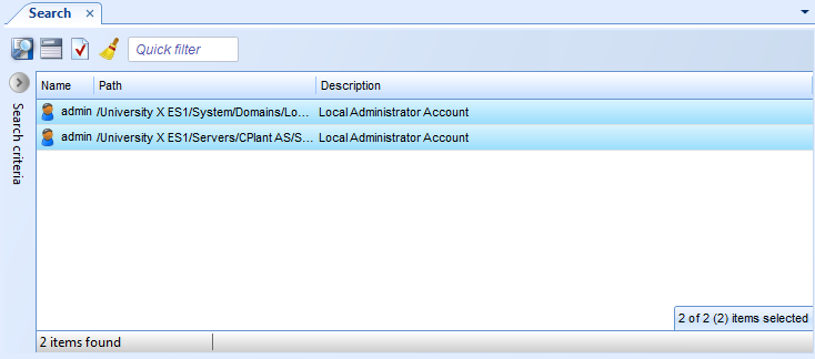 Changing the Password for Local Administrator Accounts